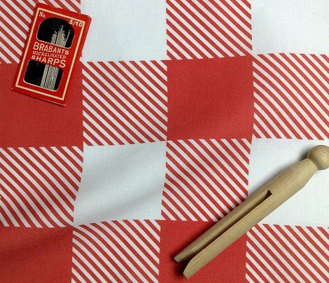 Gingham RED Two