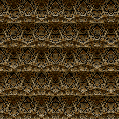Bronze Arches fabric by cricketswool on Spoonflower - custom fabric
