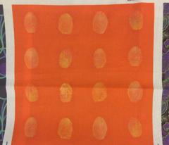 Pop art fingerprints