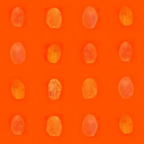 Pop art fingerprints
