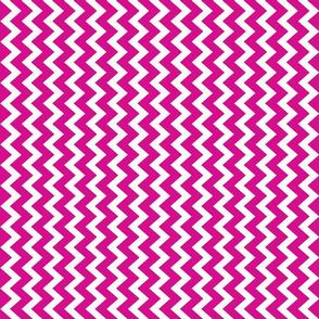 chevron in hot pink