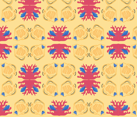 coral_reef fabric by thepassionsdeep on Spoonflower - custom fabric