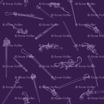 Historical Weapons Spread-Dark Purple