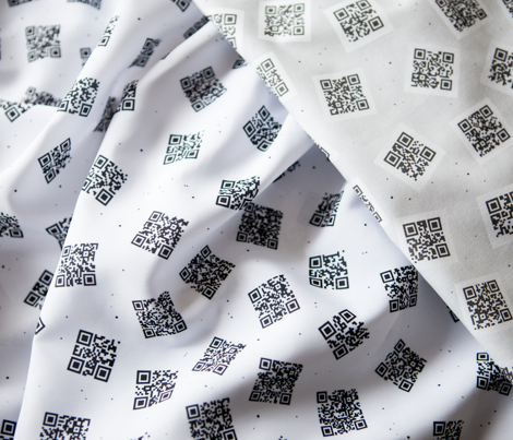 An Unfinished QR Tale white