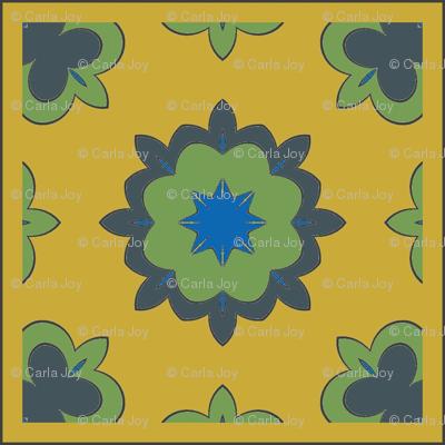 CJC Quilt Medieval Floral
