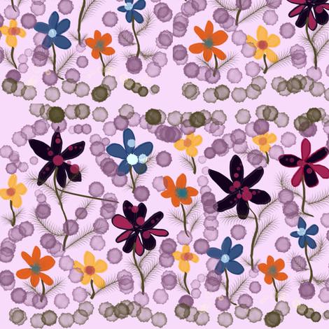 Garden_Delight_I fabric by skcreations,_llc on Spoonflower - custom fabric