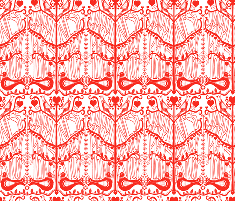 CELEBRATION OF CHINESE NEW YEAR  fabric by mariskadesign on Spoonflower - custom fabric