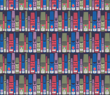 Dewey Decimal System  fabric by heidikenney on Spoonflower - custom fabric