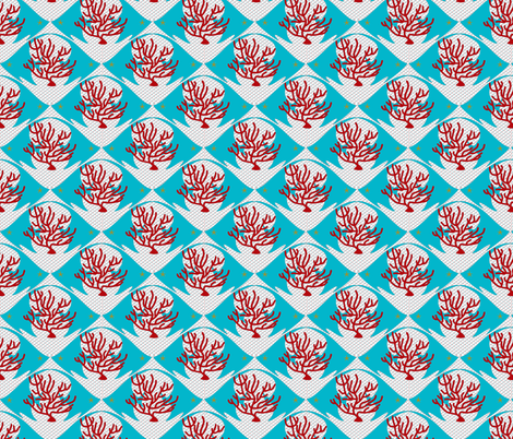 Great_barrier_reef fabric by studio_anh_val©rie on Spoonflower - custom fabric