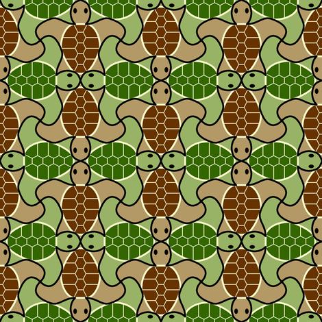 02768912 : turtle 4g X fabric by sef on Spoonflower - custom fabric