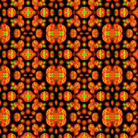 Glow Orange fabric by mugglz on Spoonflower - custom fabric