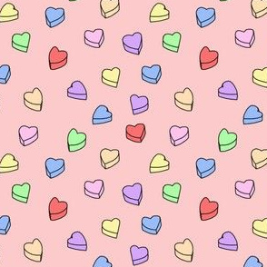 candy hearts!