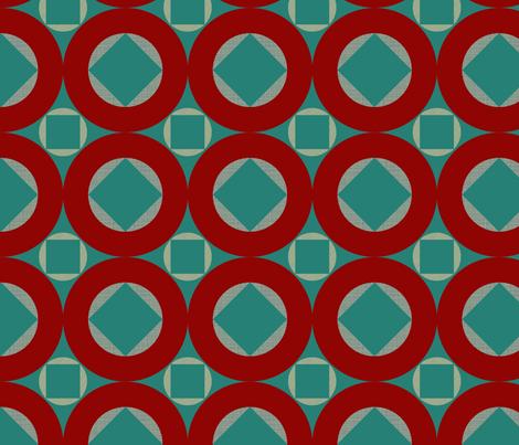 geo pop fabric by bippidiiboppidii on Spoonflower - custom fabric