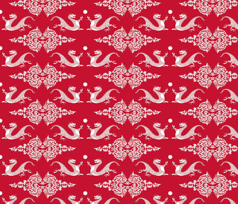 Gong Xi Fa Cai! fabric by ridley_designs on Spoonflower - custom fabric