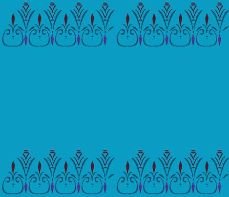 Elsa's coronation skirt fabric by lady_knight on Spoonflower - custom fabric