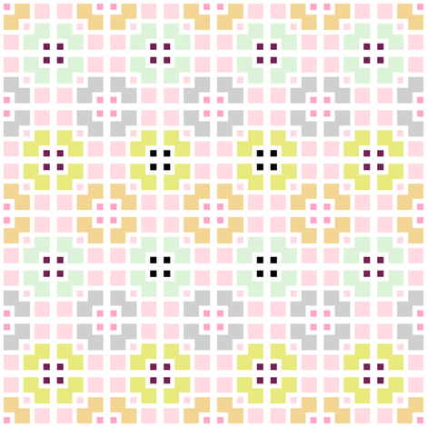 Sweet Blocks fabric by joanmclemore on Spoonflower - custom fabric