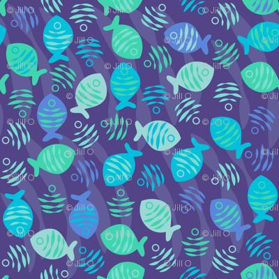Surfish Print