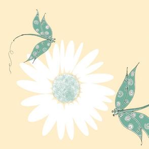 Dragonflies N Daisies