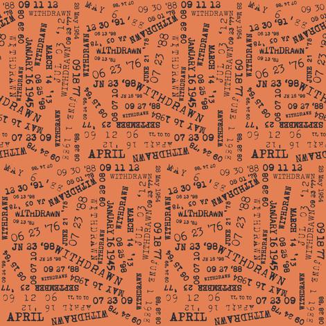 Overdue fabric by heidikenney on Spoonflower - custom fabric