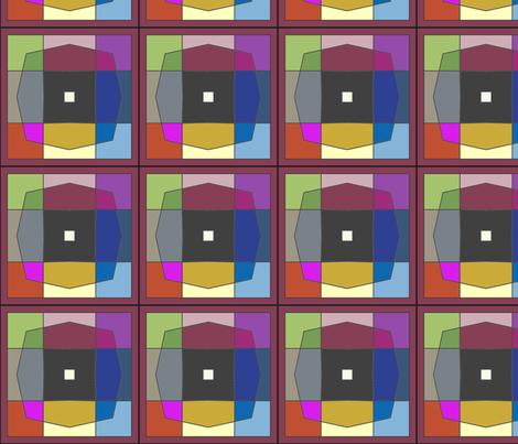CJC Quilt Mosaic fabric by carla_joy on Spoonflower - custom fabric