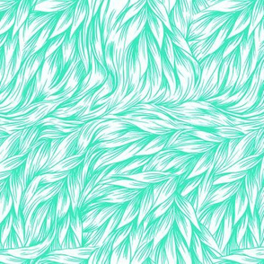 Fur in Vivid Mint