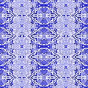 Victorian Blues (vertical stripe)
