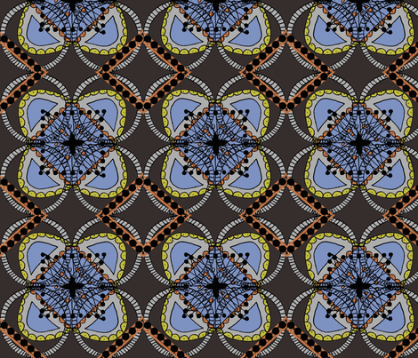 Shells fabric by hkoontz on Spoonflower - custom fabric