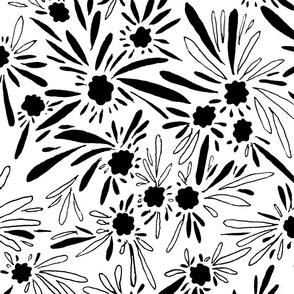 Desert Flower_B&W