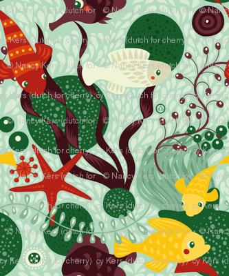 Great Barrier reef (green)