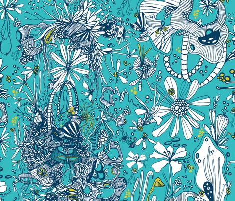 Deep Sea fabric by patriciasodre on Spoonflower - custom fabric