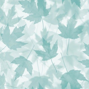Maple Layers - turquoise