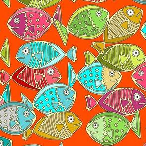 fish orange