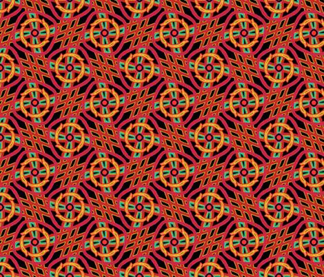 Year of the Horse fabric by feebeedee on Spoonflower - custom fabric