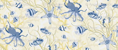 Golden Ocean Reef by Angel Gerardo