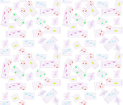 noten_5 fabric by ruthjohanna on Spoonflower - custom fabric