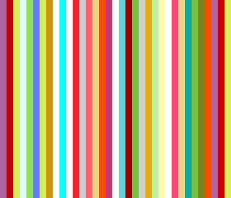 multi stripe fabric by scrummy on Spoonflower - custom fabric