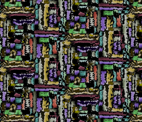 Brushstrokes fabric by mktextile on Spoonflower - custom fabric