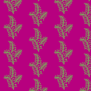 Fern in Plum