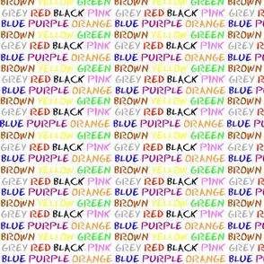 English Colours