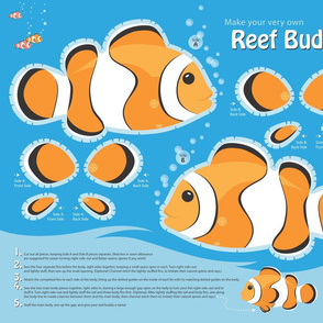Reef Buddy, a Clownfish Softie
