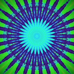 Starburst Green