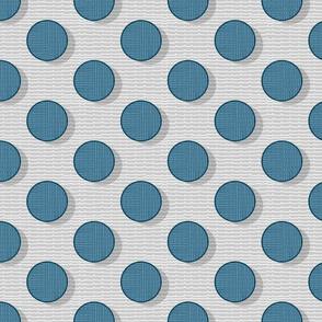 blue polka dot 50