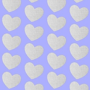 The Gentle Heart in Blue-Violet