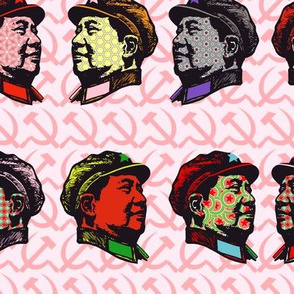 Pop Mao on pink