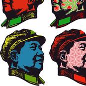 Pop Mao on white