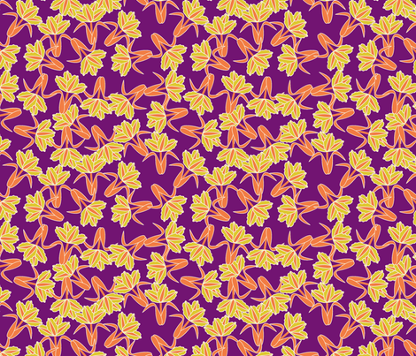 field of tulip_seamless_PURPLE fabric by anino on Spoonflower - custom fabric