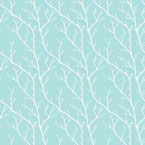 Branches, Shutter Blue