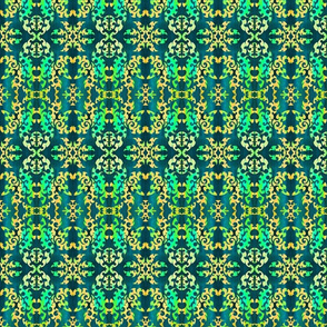 design in teal, small