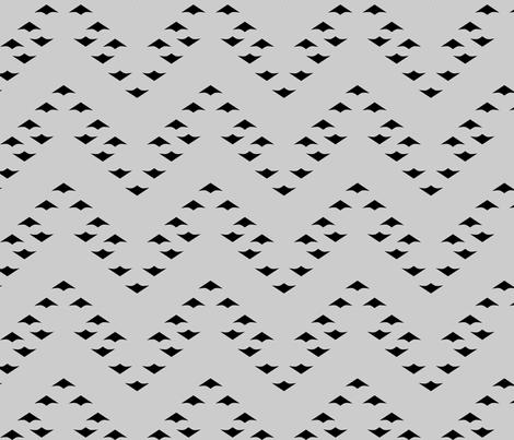 ChevronGeese fabric by mrshervi on Spoonflower - custom fabric