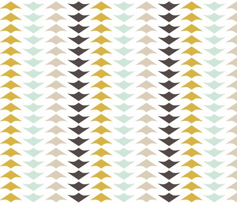 HerringboneGeese fabric by mrshervi on Spoonflower - custom fabric